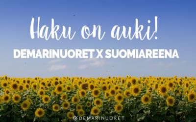 Hae Demarinuorten SuomiAreena-traineeksi oppimaan politiikasta!