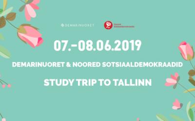 Hae mukaan oppimismatkalle Tallinnaan!