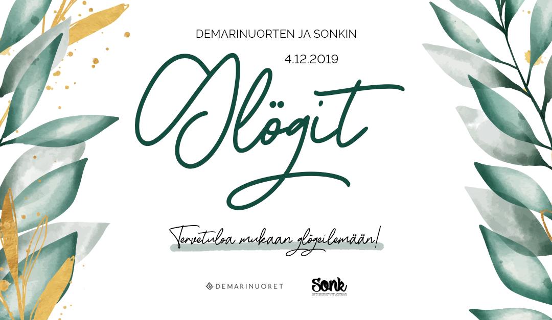 Demarinuorten ja Sonkin Glögit 2019