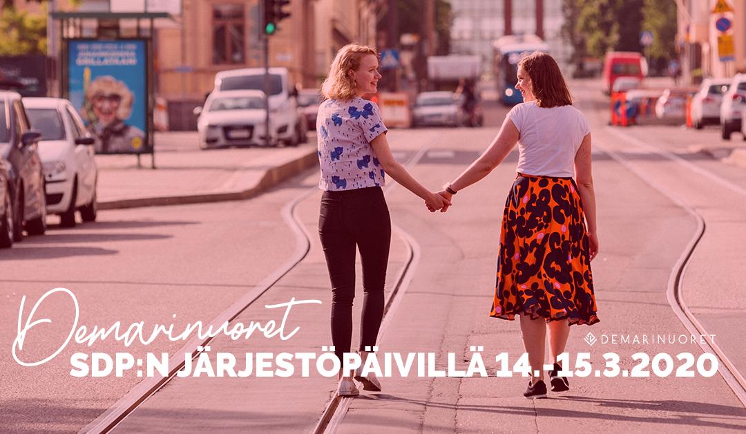 SDP:n järjestöpäivät Vantaalla 14.-15.3.2020