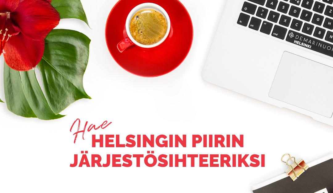 Hae Helsingin piiriin järjestösihteeriksi