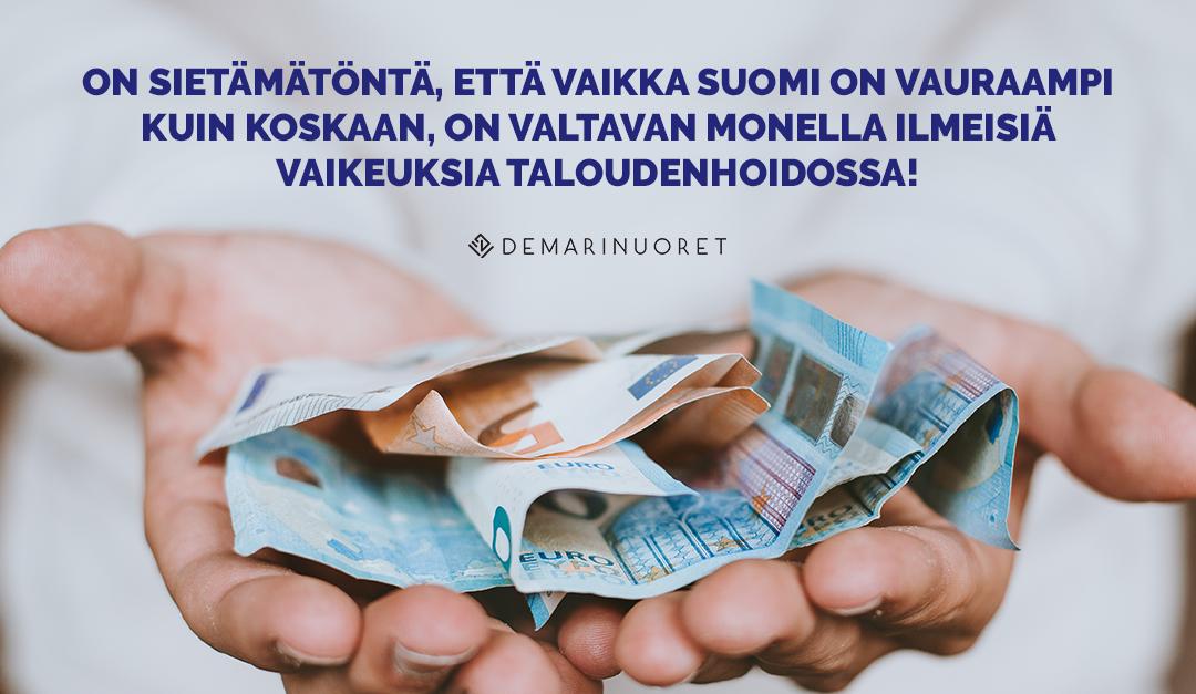 Velkaongelmiin on puututtava – opiskelu maksuohjelman aikana on rinnastettava työntekoon!
