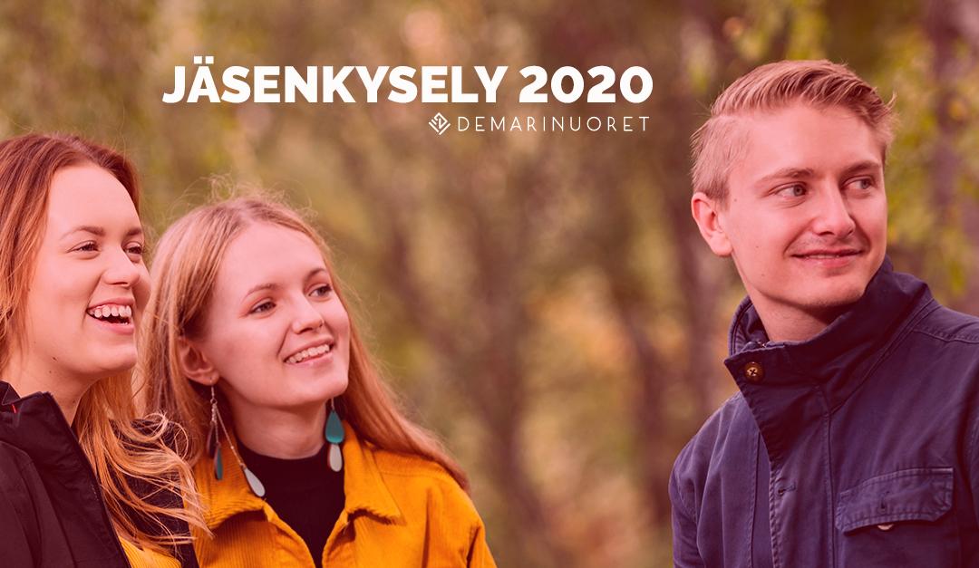 Vastaa Demarinuorten jäsenkyselyyn 2020