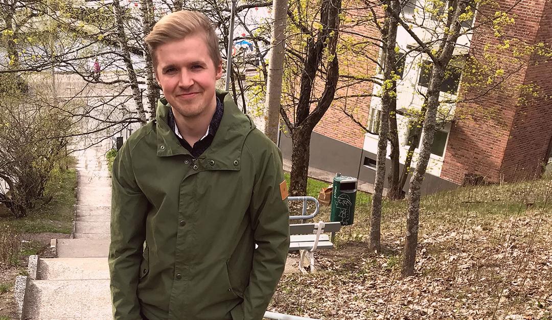 Jussi Tauriainen Kaakkois-Suomen Demarinuorten järjestösihteeriksi