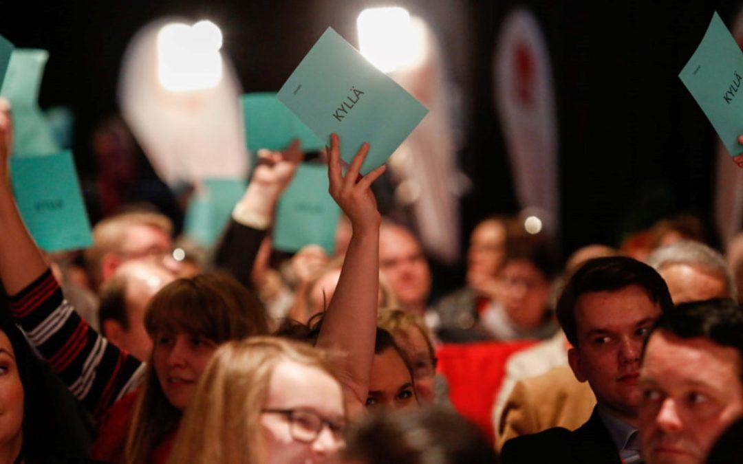 Nuorten puoluekokousverkosto kokoontui ensimmäistä kertaa