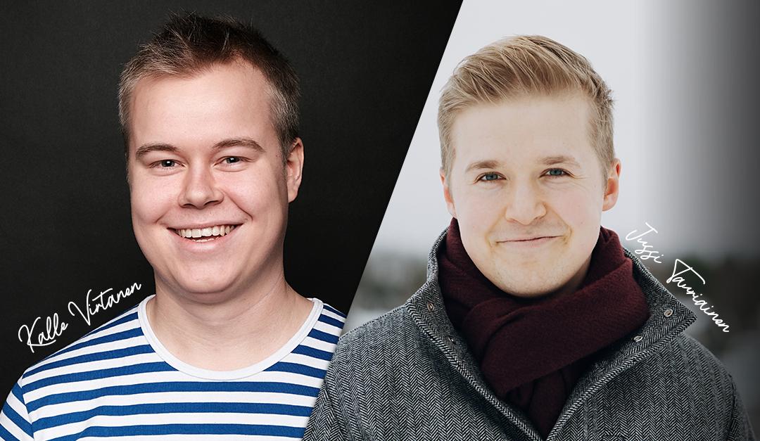 Kalle Virtanen poliittiseksi suunnittelijaksi & Jussi Tauriainen koulutussuunnittelijaksi