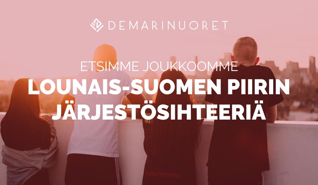 Demarinuoret etsii järjestösihteeriä Lounais-Suomeen