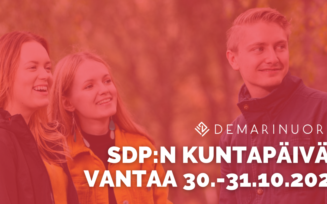SDP:n kuntapäivät 2021