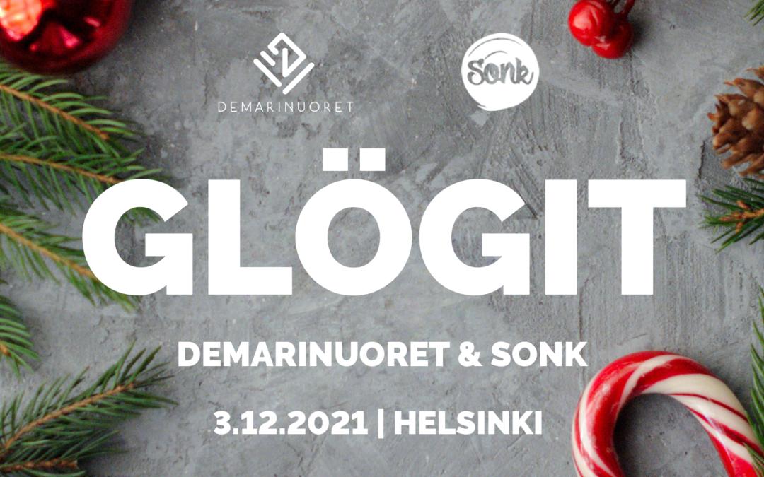 Demarinuorten & SONKin Glögit 3.12.2021