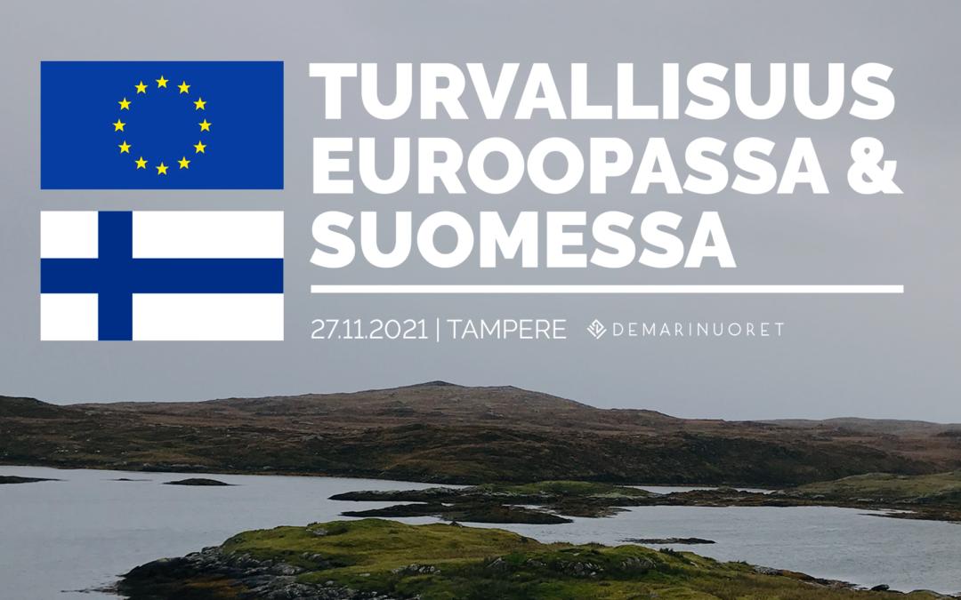 Demarinuorten seminaari: Turvallisuus Euroopassa & Suomessa 27.11.2021