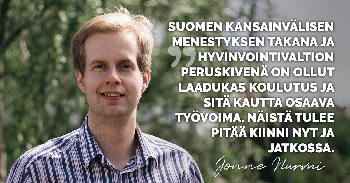 Jonne Nurmi pätkätyöt